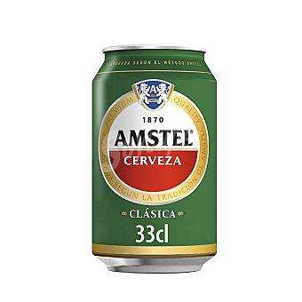 Amstel Cerveza clásica Lata 33 cl