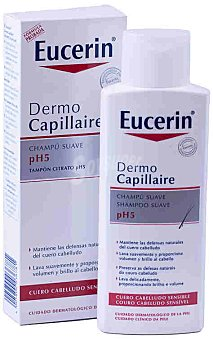 Eucerin Champú suave con pH5 250 Mililitros