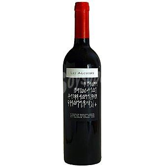 LES ALCUSSES Vino tinto joven con crianza D.O. Valencia Botella 50 cl