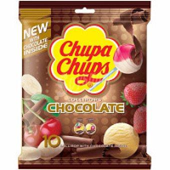 Chupa Chups Chupa chus de chocolate Bolsa 10 unid