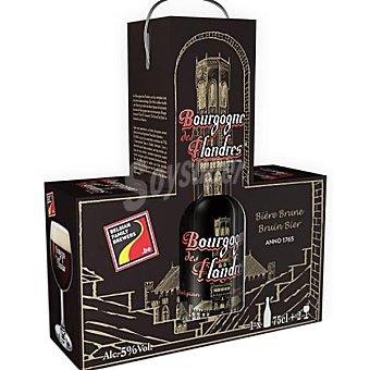 BOURGOGNE DES FLANDRES cerveza negra belga + estuche 2 botellas 75 cl