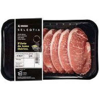 Eroski Seleqtia Filete de lomo ibérico 0,4 kg