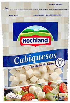 HOCHLAND Queso en dados de cabra bolsa 150 g