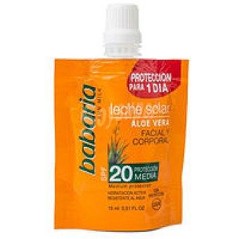 Babaria Monodosis leche solar de aloe vera F20 15ml