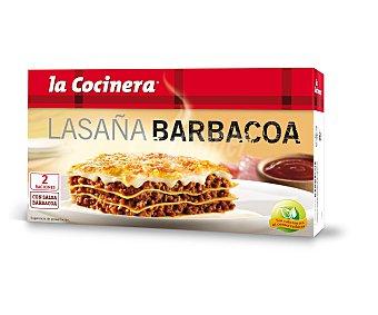 La Cocinera Lasaña barbacoa Estuche 530 g