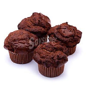 Muffins de chocolate Bandeja 300 g
