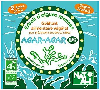 NATALI Gelatina agar Pack 2x4 g