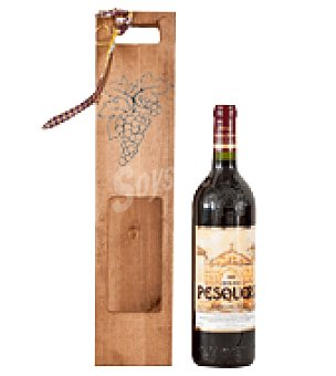 Pesquera Estuche madera con 1 botella de vino tinto crianza D.O. Ribera del Duero 75 cl