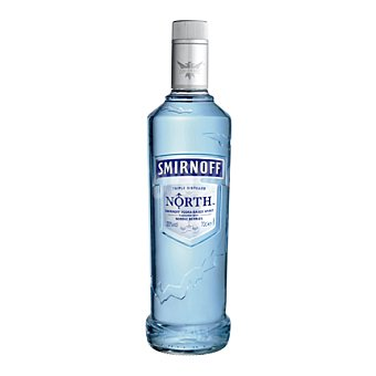 Smirnoff Vodka de importación con sabor a bayas nórdicas 70 cl