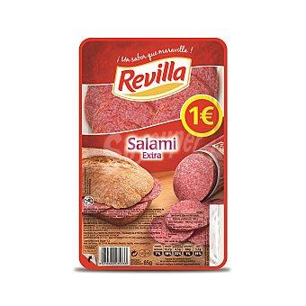 Revilla Salami extra en lonchas Envase 85 g