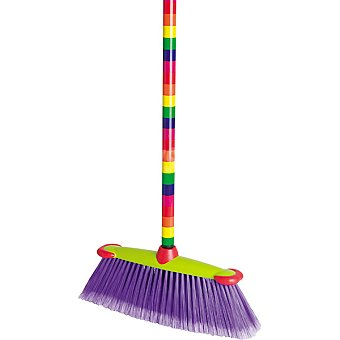Vigar Beso Bandera Cepillo para suelo con palo