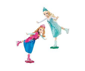 DISNEY Muñecas Patinadoras Anna o Elsa 1 Unidad