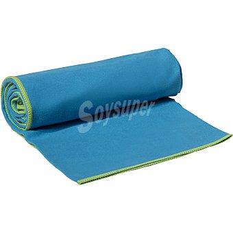 Casactual Micro mediana toalla microfibra azul y verde