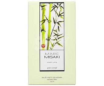 Marc misaki green concept Colonia para mujer con vaporizador 150 ml