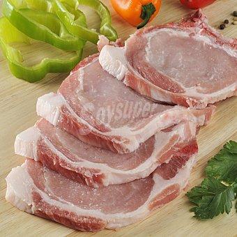 Carrefour Chuleta de lomo de cerdo Bandeja de 500.0 g.