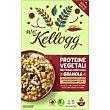 Cereales proteina choco negro-coco Caja 300 g W. K. Kellogg's