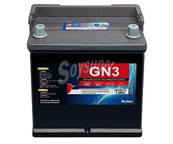 GENIUM Batería de Automóvil de 12v y 45 Ah, Potencia de Arranque: 330 Amperios 1 Unidad