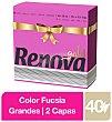 Servilleta 2 capas 40 ud - Fucsia 40 ud RENOVA Gold