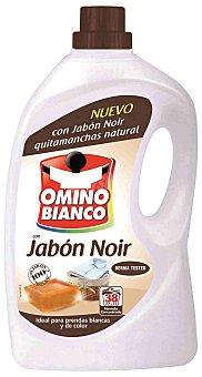 Omino Bianco Detergente maquina liquido Noir Botella 27 dosis + 11 gratis