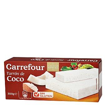 Carrefour Turrón de coco 300 g