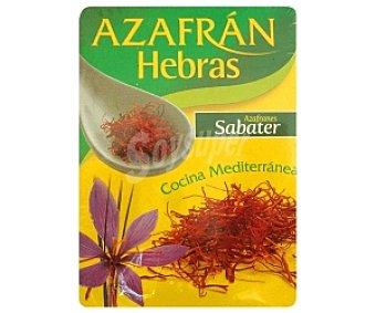 Sabater Azafrán en hebras 0.360 Gramos