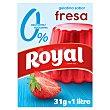 Gelatina sabor fresa sin azúcar Royal 31 g Royal