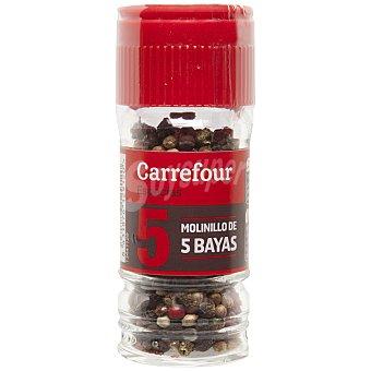 Carrefour Molinillo de 5 pimientas 25 g