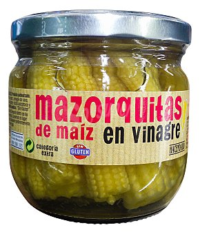 Hacendado Mazorcas de maíz conserva Tarro 190 g escurrido
