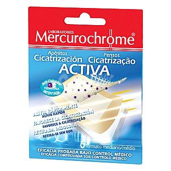 Mercurochrome Apositos Cicatrizante 6 unidades