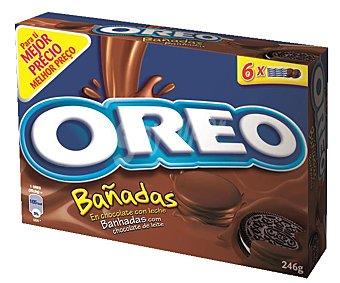 Oreo Galletas Oreo Bañadas Chocolate con Leche 246 g