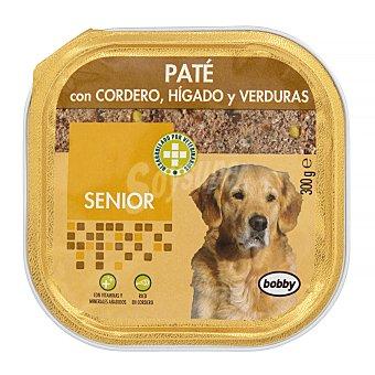 Bobby Comida perro pate cordero higado verduras senior razas medianas y grandes Tarrina 300 g