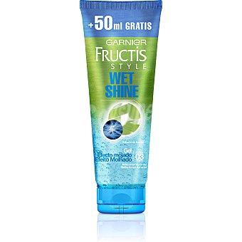 Fructis Style Garnier Gel efecto mojado fijación fuerte Tubo 200 ml