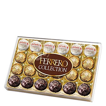 Ferrero Rocher Bombones de chocolate y avellana Collection 269 g