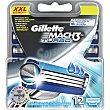Turbo recambio de maquinilla de afeitar Estuche 12 unidades Gillette Mach3