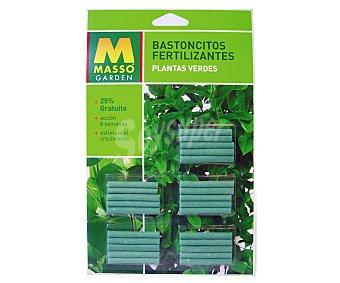 MASSÓ Garden Caja con 20 bastoncillos fertilizantes para plantas verdes massón garden