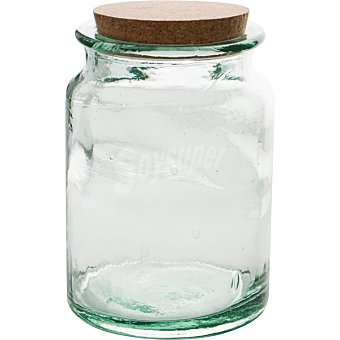 QUID Rodas Frasca de vidrio con tapón de corcho 1,9 l