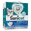 Active White arena para gatos absorbente sin fragancia Paquete 6 l SaniCat