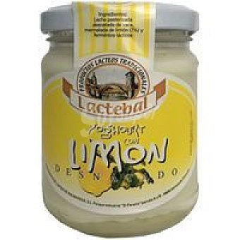 Lactebal Yogur desnatado de limón Tarro 200 g