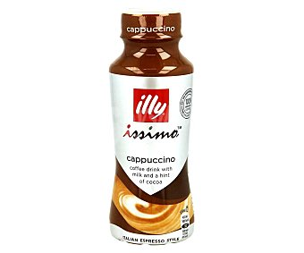ILLY Issimo Cappuccino Bebida de café con leche y cacao Envase 250 ml