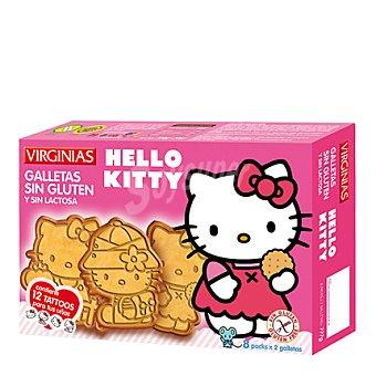 Virginias Galletas sin Gluten y sin Lactosa Hello Kitty 120 g