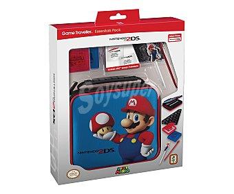NINTENDO Pack de Accesorios de Viaje Super Mario para Nintendo 2Ds 1 Unidad