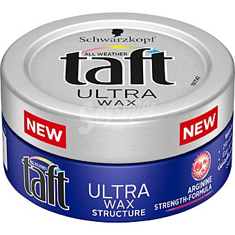 Taft gel cera ultra creative look Tarro 75 ml