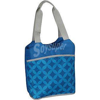 CASACTUAL Bolso Nevera de poliéster en color azul 10 litros