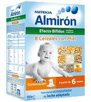 ALMIRON Papilla 8 cereales con miel bifidus 600 g