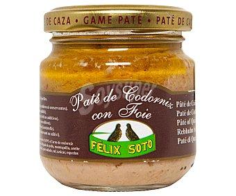 Felix Soto Paté de codorniz con foie Frasco 130 g neto escurrido