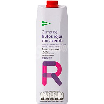El Corte Inglés zumo de frutos rojos con acerola envase 1 l
