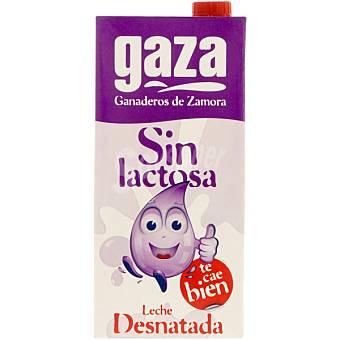 Gaza Leche desnatada sin lactosa 1 l