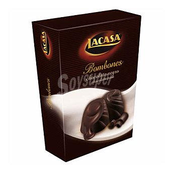 Lacasa Bombon chocolate negro Paquete 100G