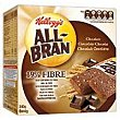 All Bran barritas chocolate  6x40 gramos All bran Kellogg's