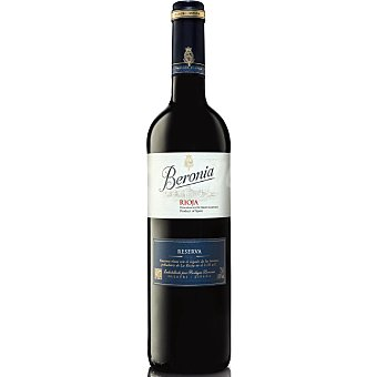 Beronia Vino Tinto Reserva Rioja Botella 75 cl
